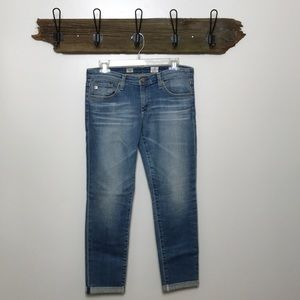 AG Adriano Goldschmied Stilt Roll-Up Jeans 29R